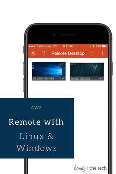 Um auf virtualisierten Systemen (in meinem Fall AWS) auch eine Desktop Oberfläche bedienen zu können, gibt es verschiedene Möglichkeiten wie RDP, VNC, Teamviewer, usw. Es kommt... AWS: Remote Desktop auf Linux & Windows