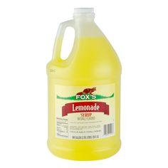 Fox's 1 Gallon Lemonade Concentrate 4 / Case