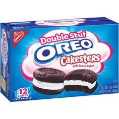 Nabisco Oreo Double Stuf Cakesters Soft Snack Cakes, 2.65 oz, 6 count - Walmart.com
