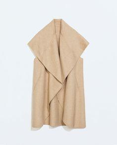 Imagem 6 de COLETE COMPRIDO 'HAND MADE' da Zara