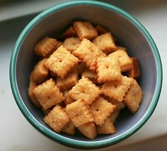 homemade cheez its.