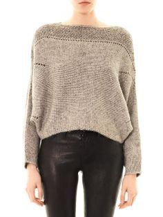 Helmut Lang Polar bay alpaca-blend sweater