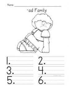 Worksheets to pair with lessons on short /u/ word families-ub-ug ...