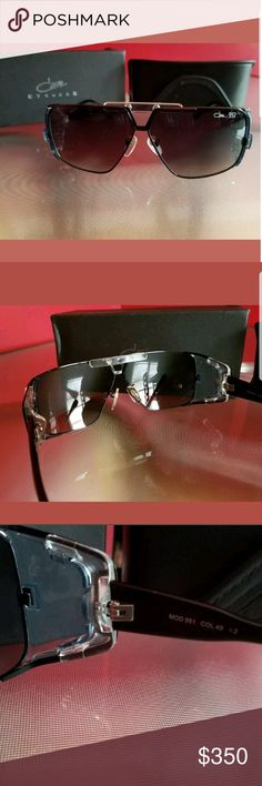 Cazal 951 Sunglasses Brand New,comes with box and case.Side glare prevention style,nickname:Rick Ross Frames Cazal Accessories Glasses