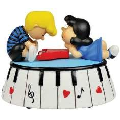 Lucy and Linus Music Box -- very cute!