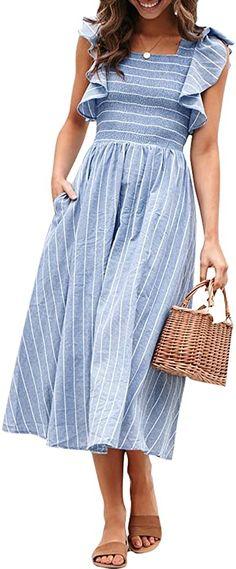 Three Dots Womens Capri Stripe V-Neck Tunic Sleeveless Top