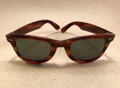 Vintage Ray Ban Wayfarer Tortoise 5024 Bausch Lomb B&L Sonnenbrille USA
