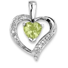 ICE CARATS 925 Sterling Silver Heart Green Peridot Diamond Pendant Charm Necklace Gemstone Love Fine Jewelry Gift For Women Heart ** Click image for more details. (This is an affiliate link) Diamond Pendant, Diamond Jewelry, Silver Jewelry, Fine Jewelry, Women Jewelry, Jewellery, Sterling Jewelry, Sterling Silver, Gift Sets For Women