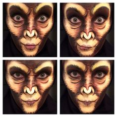 Monkey FacePaint Make-Up!