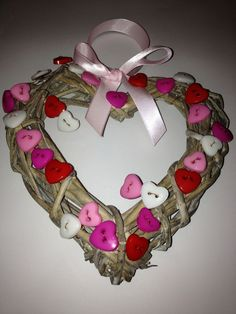 Hearts buttons n bows
