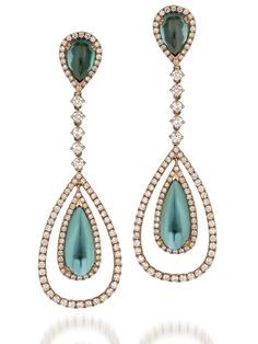 Le Vian Couture's tourmaline and diamond earrings