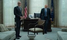 A scene from House of Cards