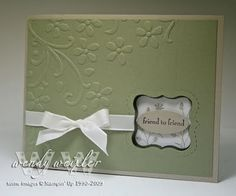 cute cut out and ribbon detail; Movers and Shapers die, Pocket Silhouettes stamp set