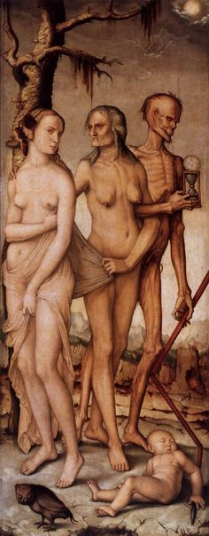 '3 Ages of Women and Death' by Hans Baldung Grien.