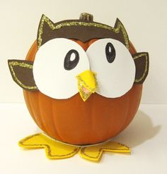 Whooo is this cute pumpkin? Our friend, Owly!