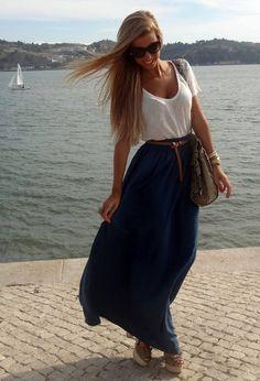 i love long skirts