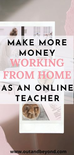 Make extra money as a teacher while staying at home. Learn to make more money, budget well, improve your credit score and improve your quality of life by becoming debt free with a good salary! Online Teaching Jobs, Teaching English Online, Online Jobs, Teaching Resources, Make More Money, Make Money From Home, Extra Money, Job Website, Money Budget