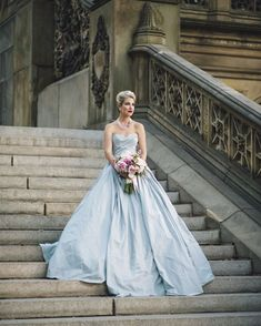Image by Justin & Mary. Floral Design by Carrie Wilcox Floral Design. Fashion Styling by Beth Chapman. Hair & Makeup by d.d. Nickel. Gown by Romona Keveza. Jewelry by Maria Elena and The Something Old Collection.