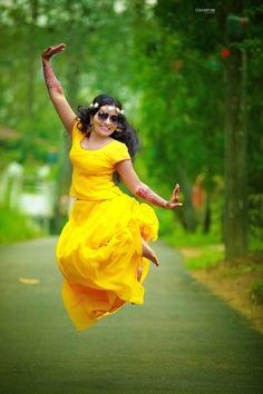 Best Haldi Ceremony Photos From Indian Weddings! Haldi Ceremony, Wedding Frames, Indian Weddings, Disney Princess, Formal Dresses, Photos, Fashion, Dresses For Formal, Moda