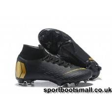 best service 0ebfb 06471 Nike Mercurial Superfly VI 360 Elite FG Football Boots - Black Gold Online  Stivali Neri