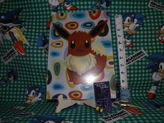 Character: Eevee Brand: Pokémon Center Condition: New Size: A4