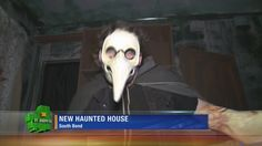 The South Bend Civic Theatre opened up their own haunted house right in the heart of Downtown South Bend.