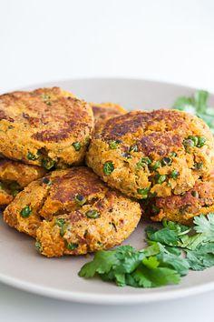 Sweet Potato Chickpea Veggie Burger Recipe by Cook Smarts