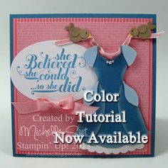 Cinderella Punch Art Tutorial - Now Available - Stampin' Up! - Designed and Created by Michelle Suit - A fun, DIY project.  Paper Crafting fun!