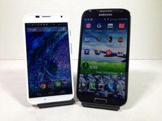 Motorola Moto X vs. Samsung Galaxy S4 Full Comparison Review AT #attmobilereview