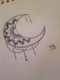 Resultado de imagen de sun and moon mandala drawing tumblr