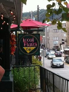 Our Favorite Restaurant In Eureka Springs Love To Sit Outside And Have Dinner The