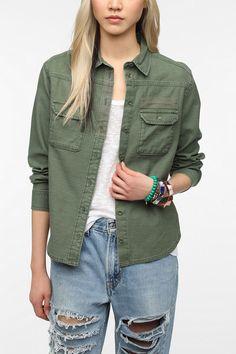 BDG Button-Down Surplus Shirt  #UrbanOutfitters