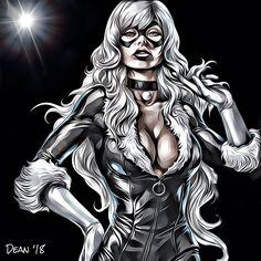 The best Cat is a Black Cat a.a Felicia Hardy! Studio S, Felicia, Shorts, Cool Cats, Spiderman, Joker, My Arts, Comics, Fictional Characters