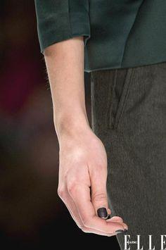 Les #tendances #vernis à #ongles de l'automne 2013 - L'effet mat