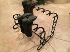 Fascinating Horseshoe Boot Rack                                                                                                                                                                                 More