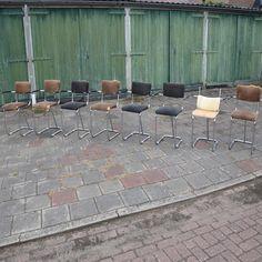 8  buisframe stoeltjes van Gispen model 207 Patio, Outdoor Decor, Model, Design, Home Decor, Decoration Home, Room Decor, Scale Model