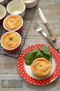 Country Chicken and Mushroom Pies (Maggie Beer)