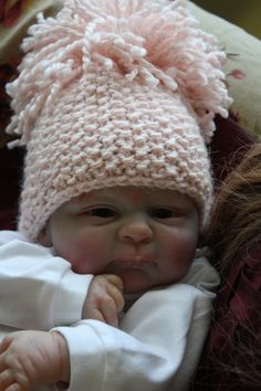 Like me @ Facebook: Cuddle on Delivery Reborn Dolls  Baby Serephina  painted by me and knits created by me also
