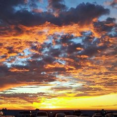 The views from our lot couldn't get any better. #Sunset #ToyotaCarlsbad