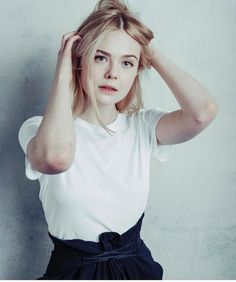 Elle Fanning photographed by the Hollywood Reporter at Sundance Film Festival 2017
