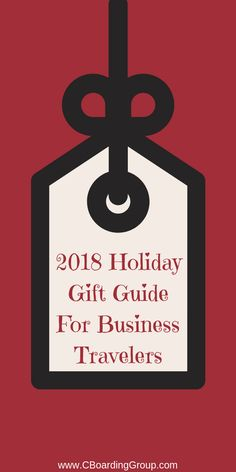 166debc926a 2018 Holiday Gift Guide for Business Travelers – Find the Best Gifts for  Business Travelers Holiday