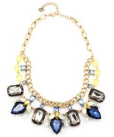 Hydrangea Collar Necklace