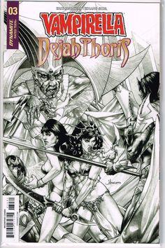Vault 35 Dejah Thoris #3 Cover D NM 2018 Dynamite Vampirella