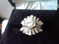 3.00CTW LCS DIAMOND WEDDING ENGAGEMENT RING GUARD SET SZ 5 SZ 6 SZ 7  SZ 8 SZ 9  #EXCEPTIONALBUY