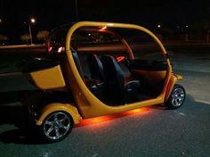 Custom gem car led lights