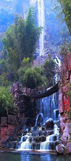 Amazing waterfall
