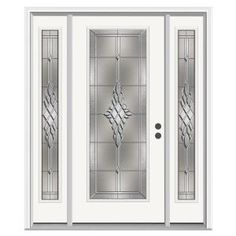 Jeld Wen 66 In X 80 In Full Lite Idlewild Primed Steel