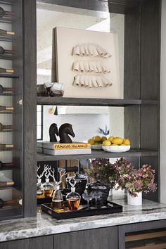 KES Studio Offers a Fresh, Polished Take on California Style | Rue California Style, Wet Bars, Bar Lounge, House Tours, Wine Storage, Studio, House Design, Flooring, Architecture