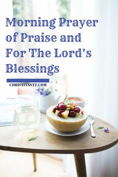 A Morning Prayer of Praise to start your day with the blessings of God. Heavenly Father, I come to You this morning giving You all the praise and honor Prayer Of Praise, God Prayer, Power Of Prayer, Daily Prayer, Praise The Lords, Sunday Morning Prayer, Morning Prayers, Types Of Prayer, Miracle Prayer