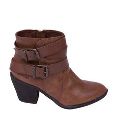The edgy cowboy-biker combo ankle boot Sworn is the ultimate casual boot for…